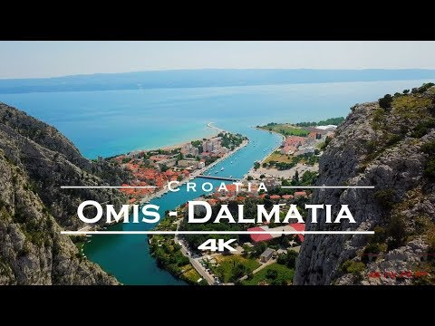 Omis, Croatia 🇭🇷 - by drone [4K]